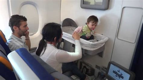 bassinet seat emirates a380 a 380 841 lufthansa travelling with children