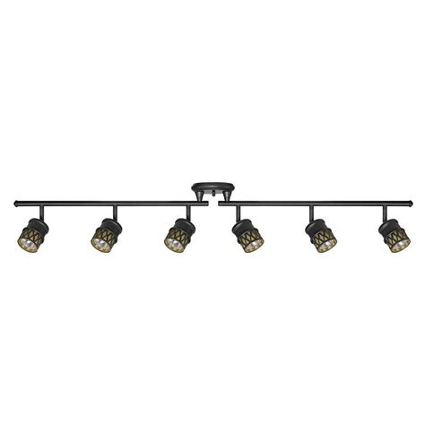 globe electric track lighting globe electric kearney 6 light oil rubbed bronze foldable