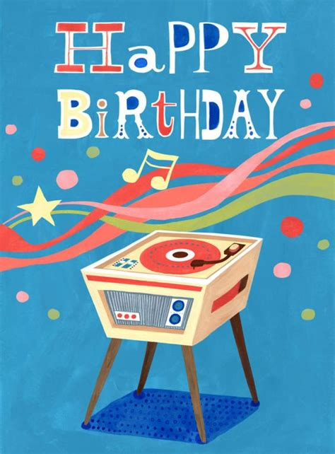 Records Birthdays Record Player Birthday Hui Skipp Birthdays Happy Record Player And