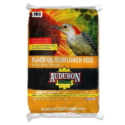 audubon park hummingbird food rating audubon park 20 lb sunflower seed 12172 the home depot