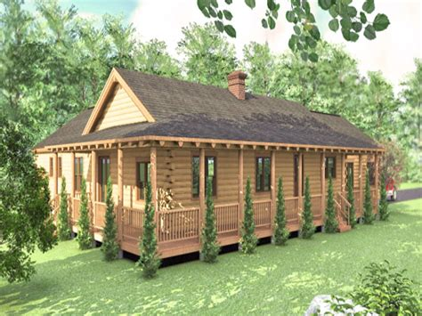 Log Cabin Style Home Plans by Log Cabin Ranch Style Home Plans Log Ranchers Homes Ranch