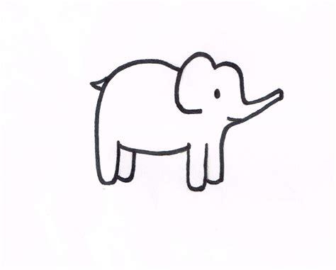 blank elephant template a elephant template kaesey
