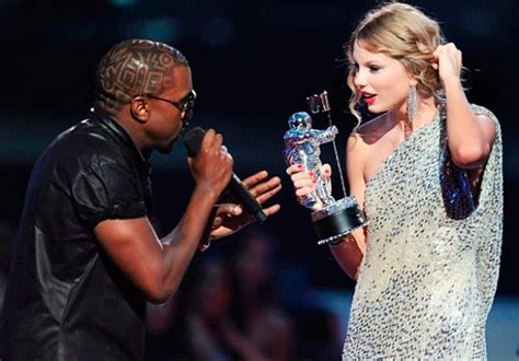 taylor swift awards kanye west kanye west s taylor swift diss no regrets about mtv vmas