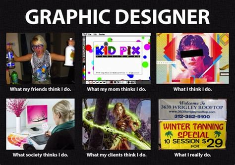 Graphic Design Meme - meme what people think i do is not what i really do