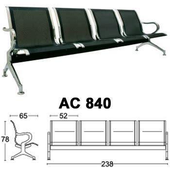 Kursi Tunggu Besi 4 Seat toko kursi tunggu di jakarta barat daftar harga furniture dan peralatan kantor termurah