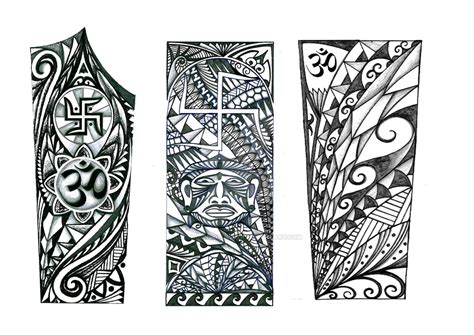 polynesian forearm band tattoo designs archives amazing