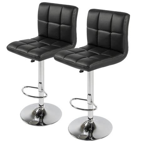 Best Adjustable Bar Stools by Best Choice Products Set Of 2 Pu Leather Adjustable Bar