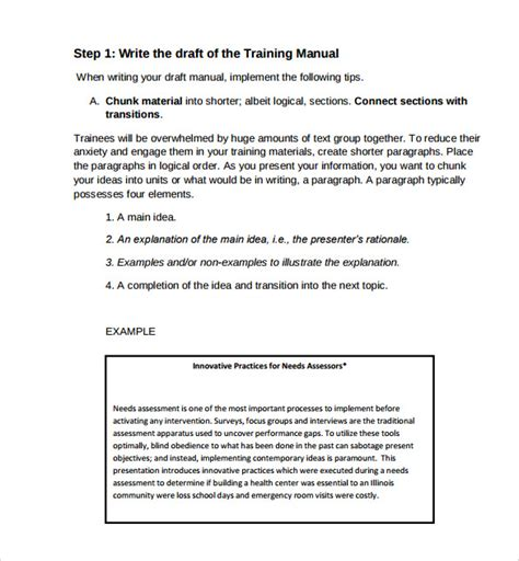Training Manual Template Mobawallpaper Manager Manual Template
