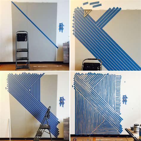 Peinture Bande Horizontale by Bande De Peinture Horizontale Sur Mur Tendance