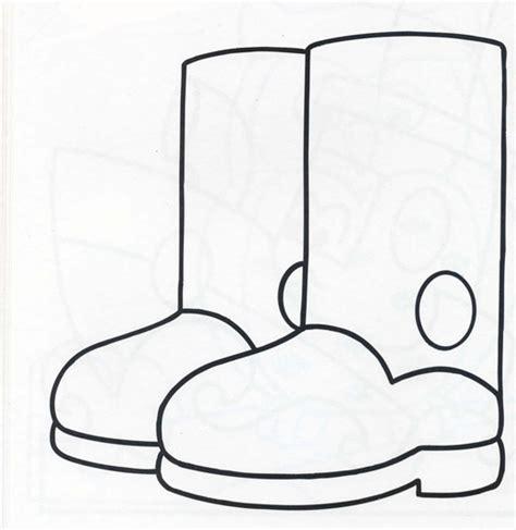 imagenes para colorear botas navideñas botas dibujo para colorear imagui