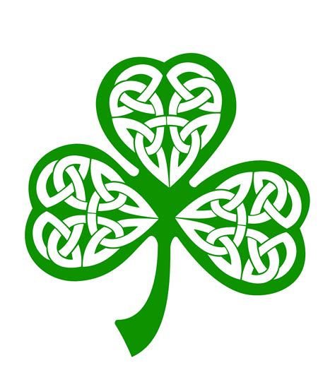 celtic and irish shamrock clipart clipart suggest