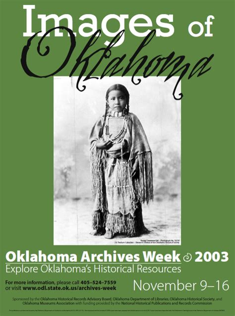 State Of Oklahoma Records Images Of Oklahoma Ok Dept Of Libraries