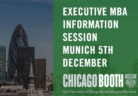Executive Mba Requirements Booth by Munich News The Munich Eye