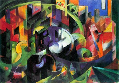 all painting free free illustration painting franz marc abstract