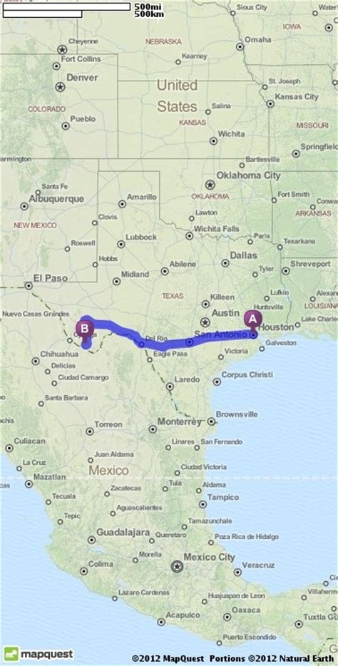 houston map driving directions driving directions from houston to terlingua