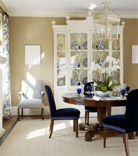 beautiful painted hutch dining rooms
