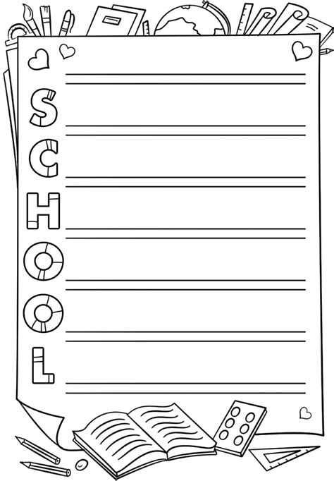 School Acrostic Poem Template Free Printable Papercraft Templates Acrostic Poem Template
