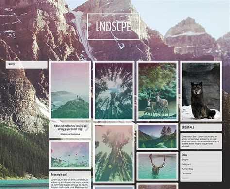 Tumblr Themes Urban V3 | 30 free tumblr themes f 252 r deinen tumblr blog