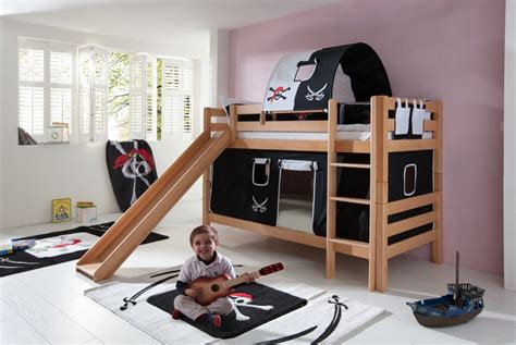 Toddler Bunk Bed With Slide How To Get Cheap Bunk Beds Bunk Bed With Slide And Wooden Stairs Furniture Ideas