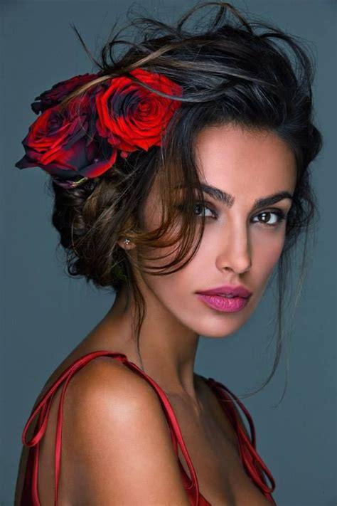 spanish women hairstyle testimonial madalina ghenea photos by oliviero toscani