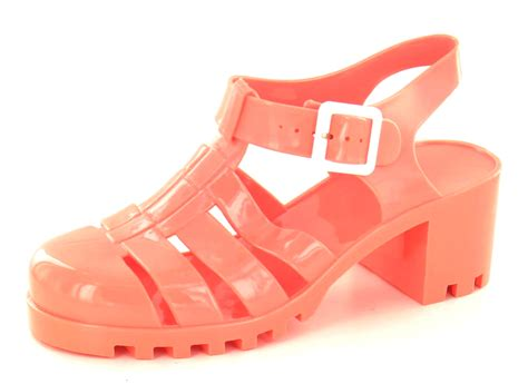 jellies shoes for womens heel jelly cut out sandals flat jellies