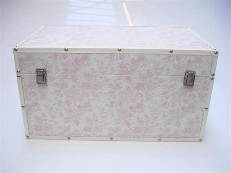 bedroom trunk storage rose flower design baby nursery kids bedroom wooden