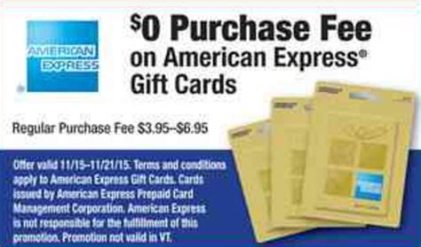 American Express Gift Card Fees - fee free american express gift cards at office depot officemax frequent miler