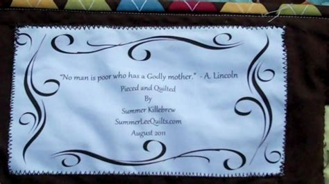 Baby Quilt Labels Quotes by Baby Quilt Label Quotes Quotesgram