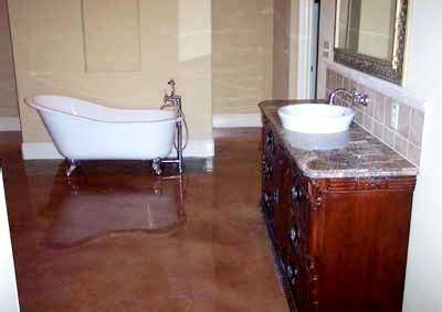 stained concrete bathroom floor 43 best images about ideas for new bathroom on pinterest
