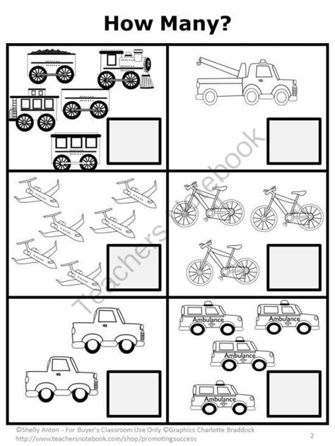 transportation math worksheets freebie dr seuss free transportation here is a sle counting page from my transportation
