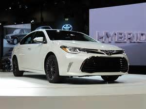 Auto Show Toyota 2016 Toyota Avalon Updated At 2015 Chicago Auto Show