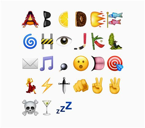 Letter Emoji ia emoji for ios 10 ia