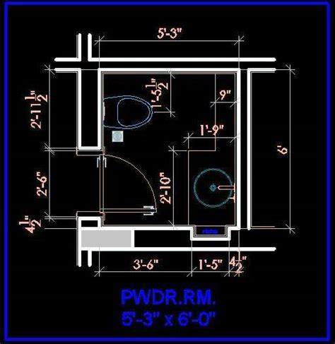 toilet layout dwg powder toilet layout plan n design
