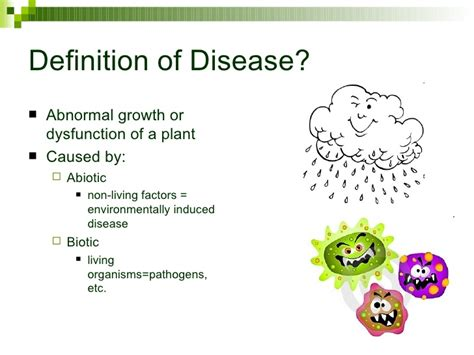 Introduction Of Plant Disease - introduction to greenhouse diseases seminar for progreen2009
