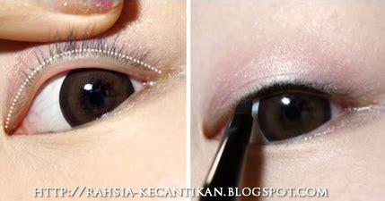 tutorial make up mata artis korea rahsia kecantikan wanita make up tutorial solekan mata