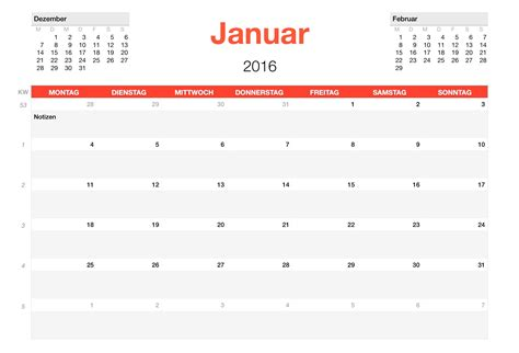 numbers vorlage kalender  numbersvorlagende