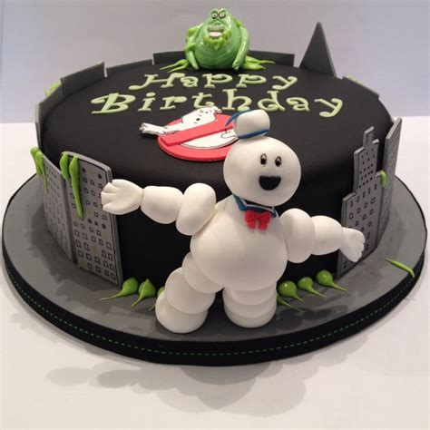 Making Christmas Decorations At Home Ghostbusters Birthday Cake