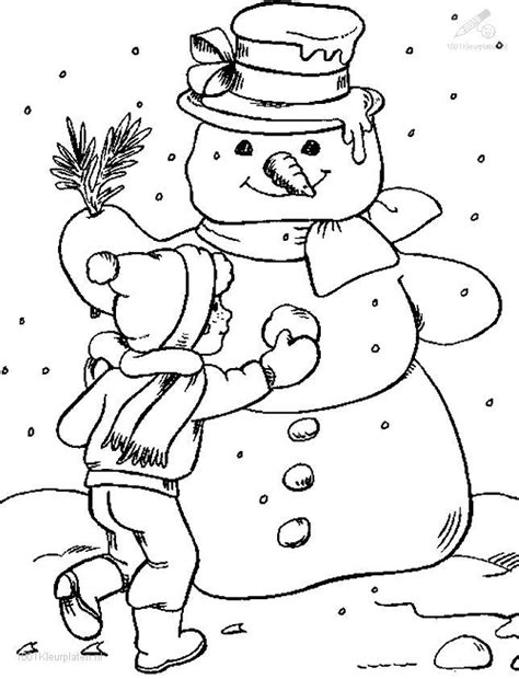 Coloring Pages Snow free coloring pages of let it snow