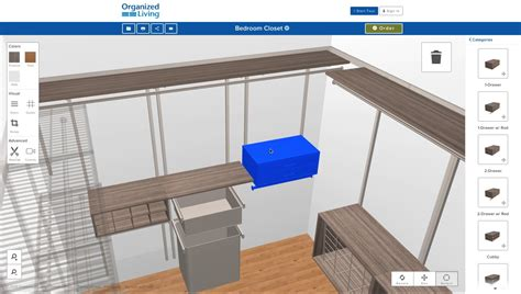 home interior design online tool new 3d closet design tool organizedliving com youtube