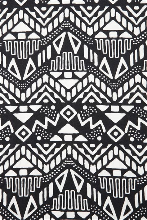 tribal pattern black and white women s black sleeveless aztec bodycon dress aztec