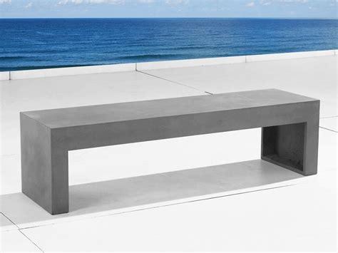 panchina in cemento panchina in cemento da giardino 150 cm taranto beliani it