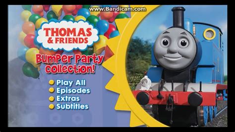 thomas friends uk dvd menu walkthrough bumper party