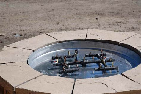 pit parts diy gas pit parts fireplace design ideas