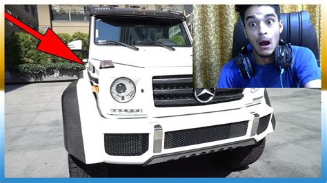 logan paul car i bought it logan paul s reaction