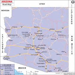 arizona road map http www mapsofworld
