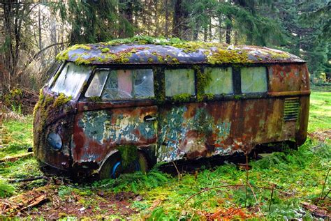 old volkswagen hippie van your source for inter dimensional news 50 year old