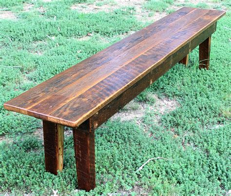 Pine Wood Bench by Bench Wood Bench Rustic Bench Reclaimed Wood Bench