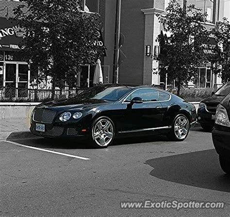 bentley canada bentley continental spotted in toronto canada on 04 21 2016