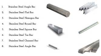 types of stee different types of stainless steel bar