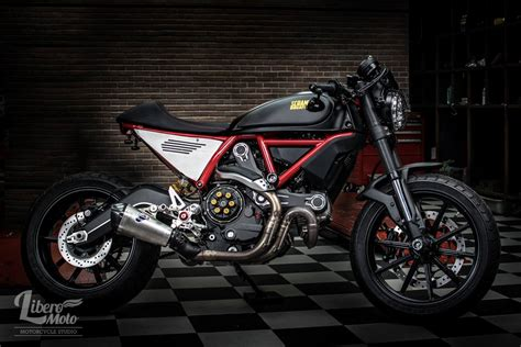 Triumph Motorrad Tuningteile by Racing Caf 232 Ducati Scrambler 1 By Liberomoto